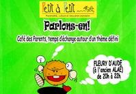 """""""PARLONS-EN"""" AVEC L'ASSOCIATION PETIT À PETIT - CAFE DES PARENTS"""