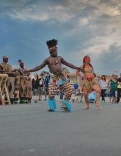 DEMONSTRATION DE DANSE AFRICAINE