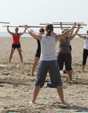 gym-plage
