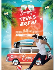 SUMMER TEEN'S BREAK AVEC FUN RADIO A SAINT PIERRE