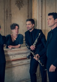 CONCERT A FLEURY VILLAGE : LE QUATUOR ANCHES HANTEES